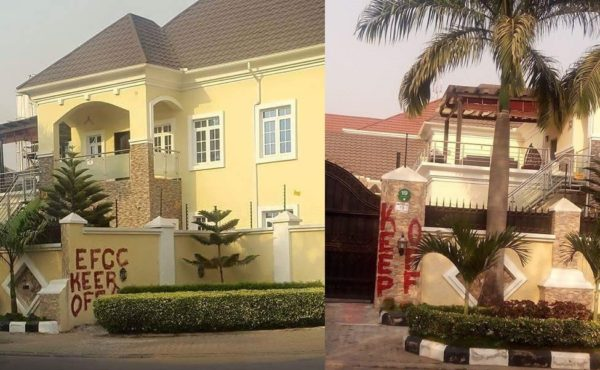 Badeh's mansions in Abuja