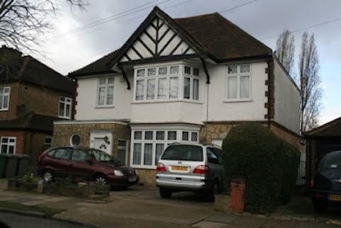 One of James Ibori's houses in the UK