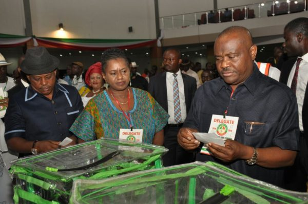 Nyesom Wike at the Congress