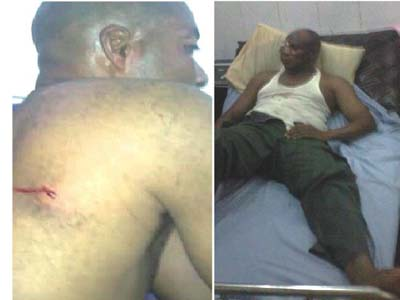 Some of the injured by the gunmen