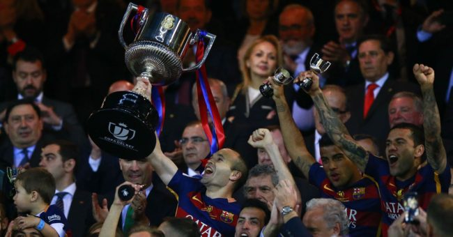 Barcelona lift the cup for the 28th time
