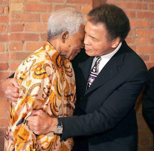 The greatest and the iconic: Muhammed Ali and Nelson Mandela