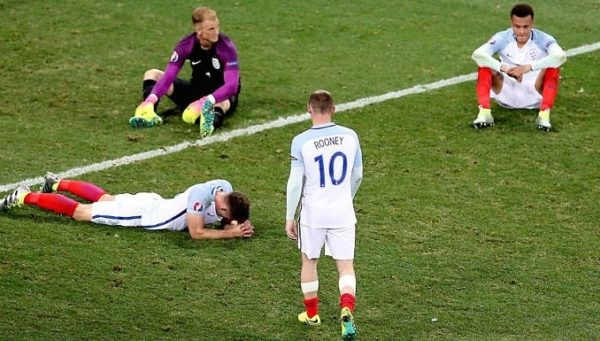 England players: disappointed