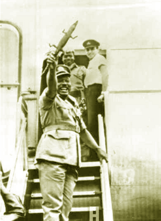 Major General Aguiyi Ironsi: The most senior military officer then