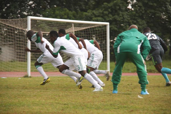 The Super Eagles on the move again as Keshi gives the command