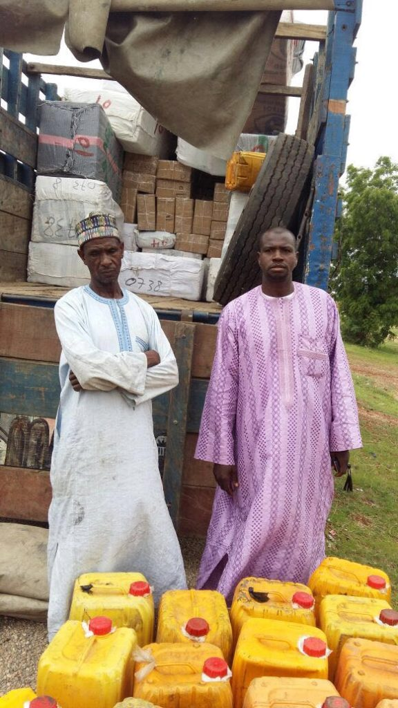 The suspected fuel suppliers to Boko Haram