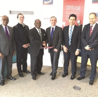 Chief Tony Chinyere, (3rd from left) Vice Chairman and   Founder, ERLL, with other international investors at the recent MOU  signing  in Texas, USA