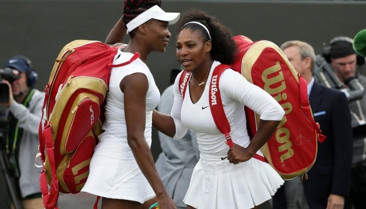 The Williams Sisters on Saturday