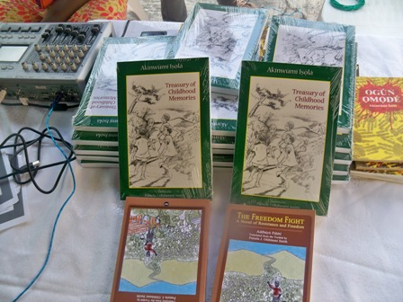 The books launched