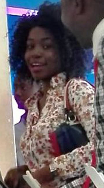 Akinade Tofunmi as captured by CCTV Of the bank and hotel she operated from