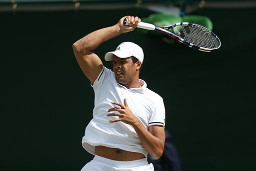 Tsonga: prevails over Isner at the end