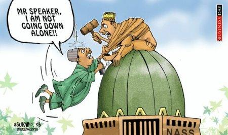 Conflict in the House. Photo credit: Business Day