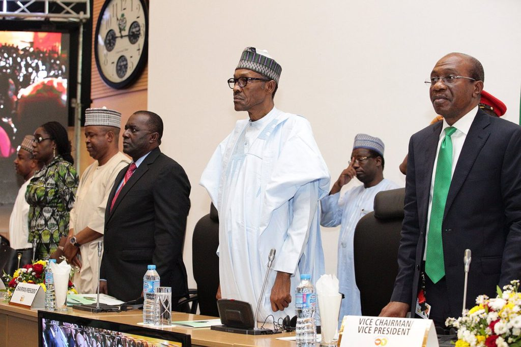 President Buhari declares open meeting of African Central Bank governors