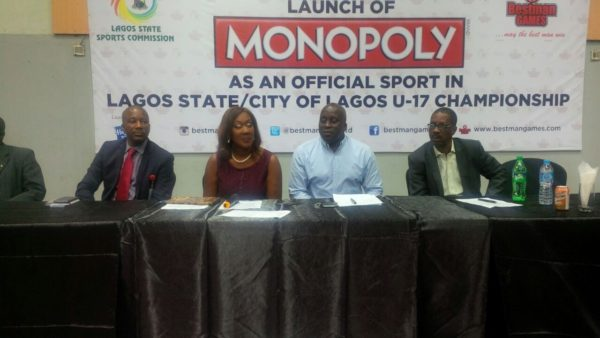 Monopoly now a sport in Lagos