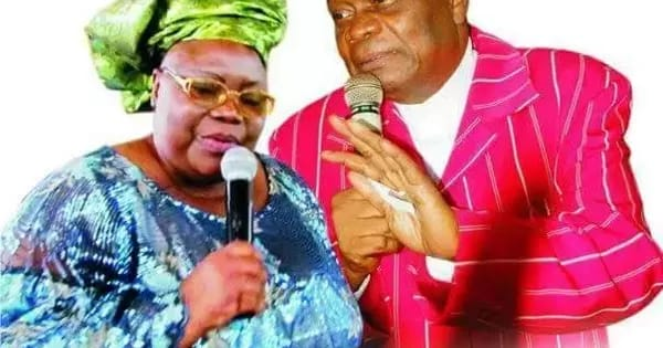 Prophet Abiara and late wife