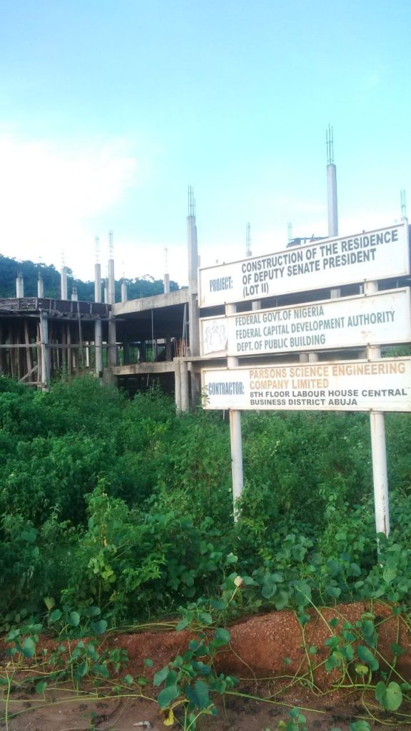 Residence-of-the-deputy-senate-president-under-construction-at-the-district