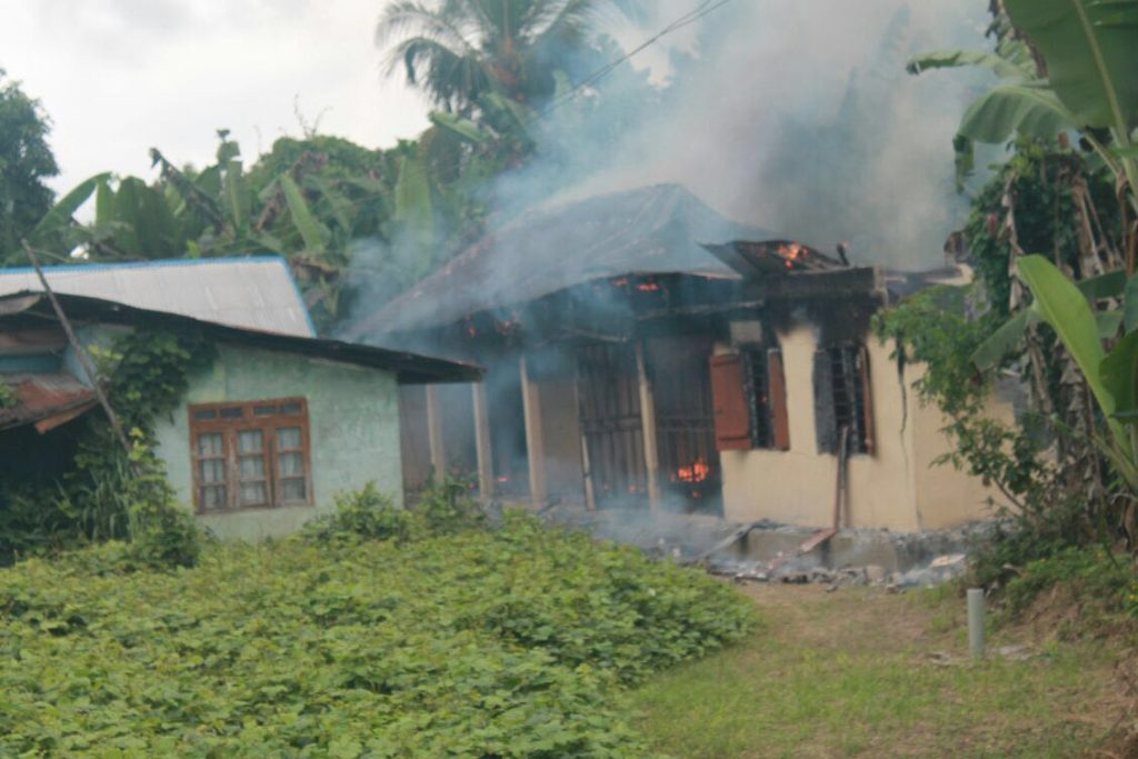 The kidnappers den destroyed by the troops
