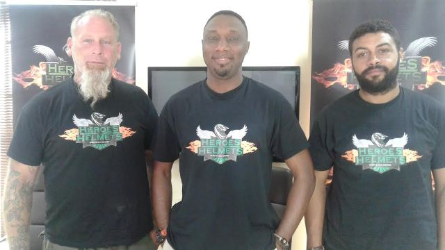 L-R: Founder, Lost For A Reason USA, Mr. Ron Grace; Founder, Out of Nigeria, Mr. Toyin Adebola and Founder, Eleko Motor Race, Mr. Dele 'Bami' BAMIDELE, at the media roundtable to announce the 2016 Independence Day on and off-road motorcycle adventure in Lagos