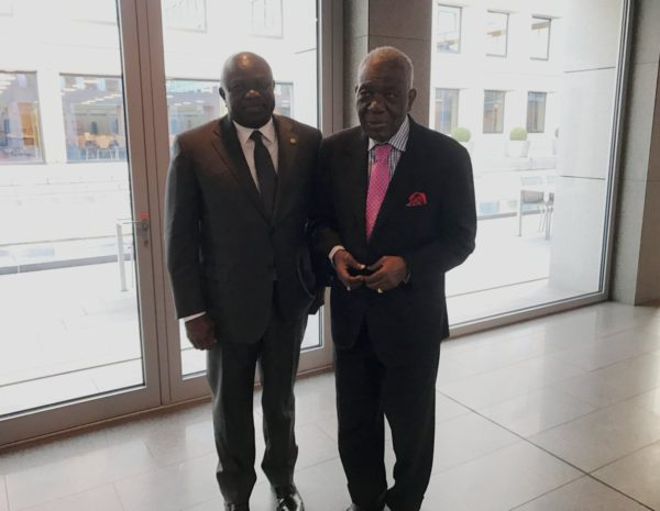 Ambode with Ernest Shonekan
