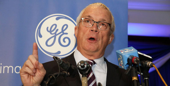 Jay Ireland of General Electric