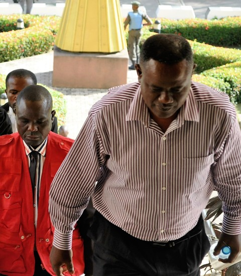Air Vice Marshal Tony Omeyi in Court