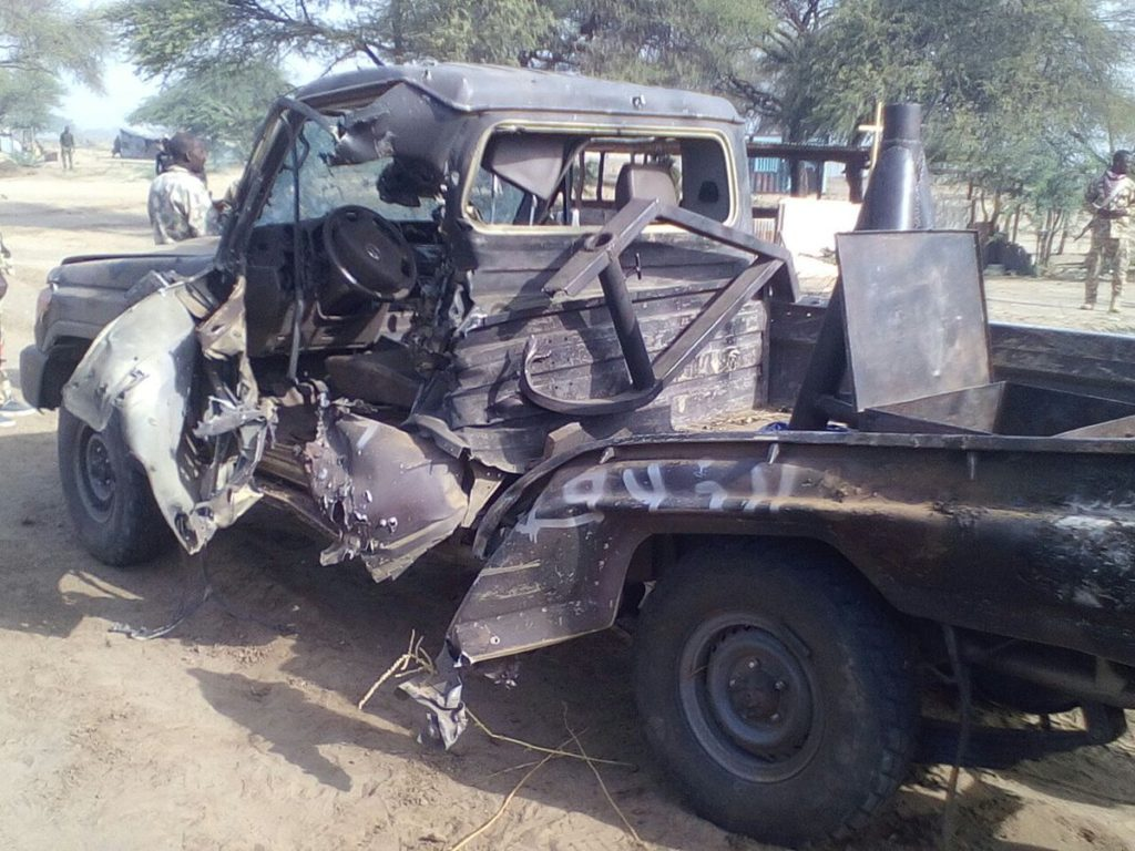 Truck seized from Boko Haram insurgents