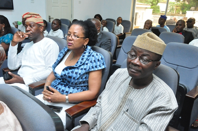 Hosted by CIAPS Lagos. Pix - Mr. Kunle Ajibade, Executive Editor of The News, PM News (l) and other guests