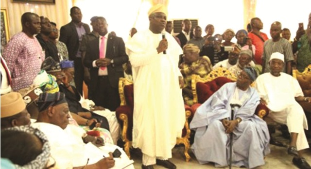 Ambode also pays tribute to Sir Ajayi