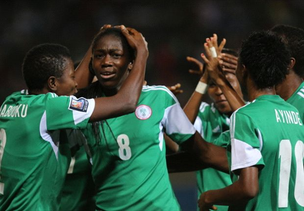 Falcons in joyous mood after scoring a goal