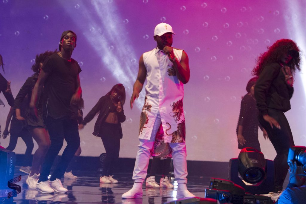Flaz performing at SoundcityMVP2016 (pic credit: Soundcity)