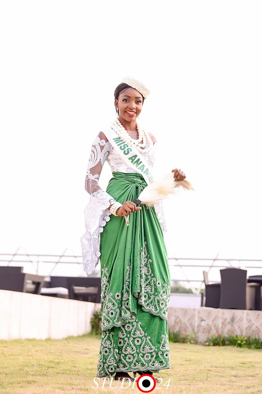 One of the contestants for the 40th Miss Nigeria 2016, Miss Chioma Representing Anambra