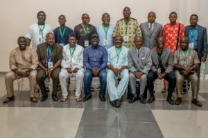 Gov. Obaseki with some participants at the retreat