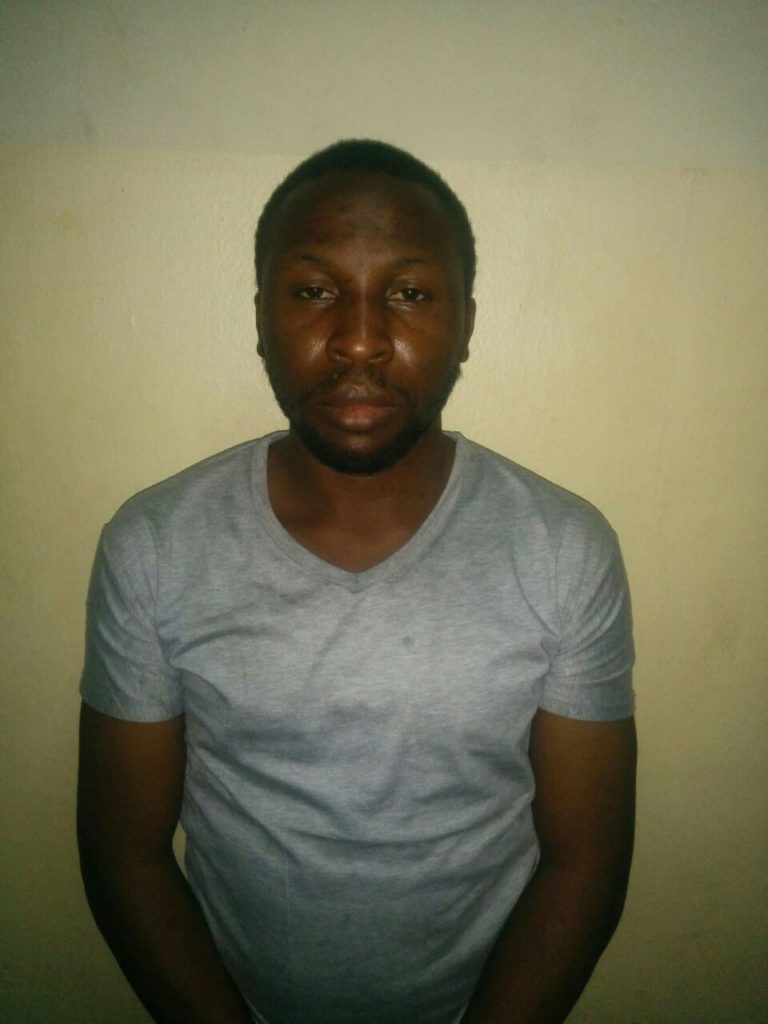Apuamagha: one of the arrested associates of Ugochinyere