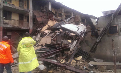 The collapsed structure