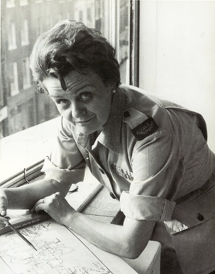 Clare Hollingworth was a reporter for the British newspaper The Daily Telegraph when she broke the news of the start of World War II. Credit The Telegraph