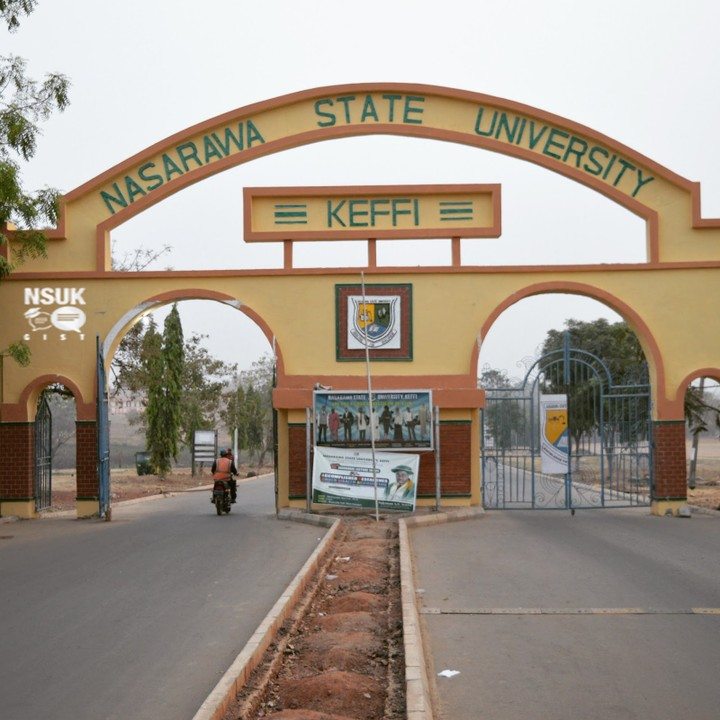 Nasarawa State University: Some of the repentant  cultists are students here