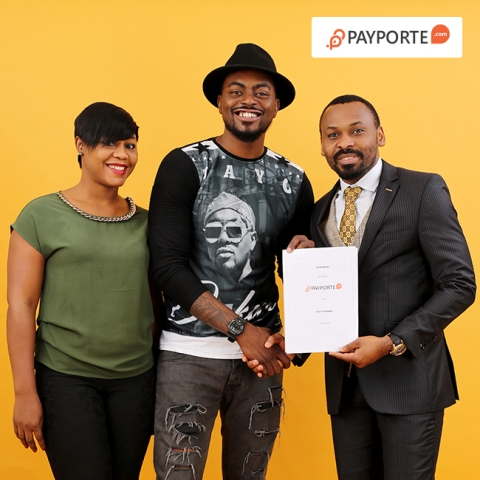 L-R: Head of Strategy and Planning, PayPorte, Irene Kayoma, Tayo Faniran  and  Chief Executive Officer, PayPorte Global Systems, Bassey Eyo,