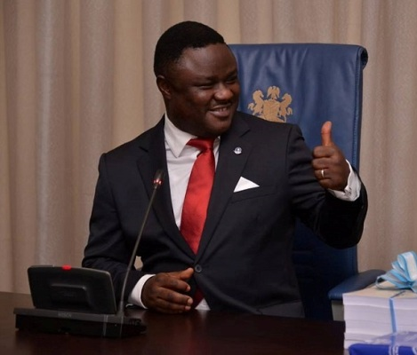 Gov. Ayade of Cross River State: defects to APC