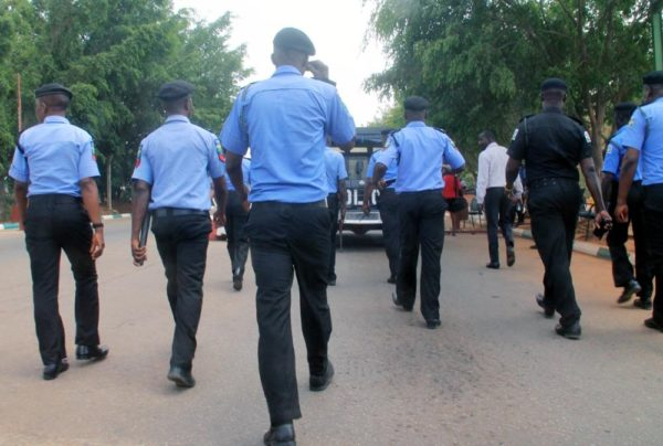 Officers of Nigeria Police Force