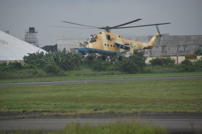 Helicopter on a mission: Defence headquarter denies its helicopter fired at a passenger boat in Rivers