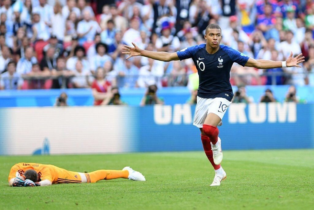 PSG's Kylian Mbappe: wanted by Real Madrid FC