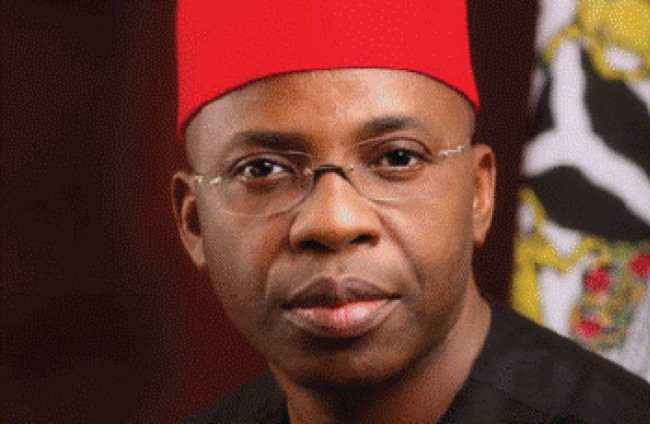 Ex-governor Ikedi Ohakim: to be arraigned for threatening to circulate nude pictures of lady
