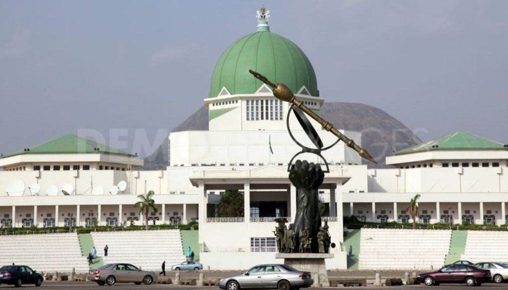 National Assembly: Legislative aides protest non payment of salaries