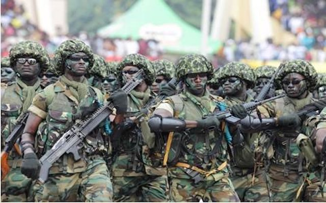 Nigerian soldiers: rescue kidnapped student