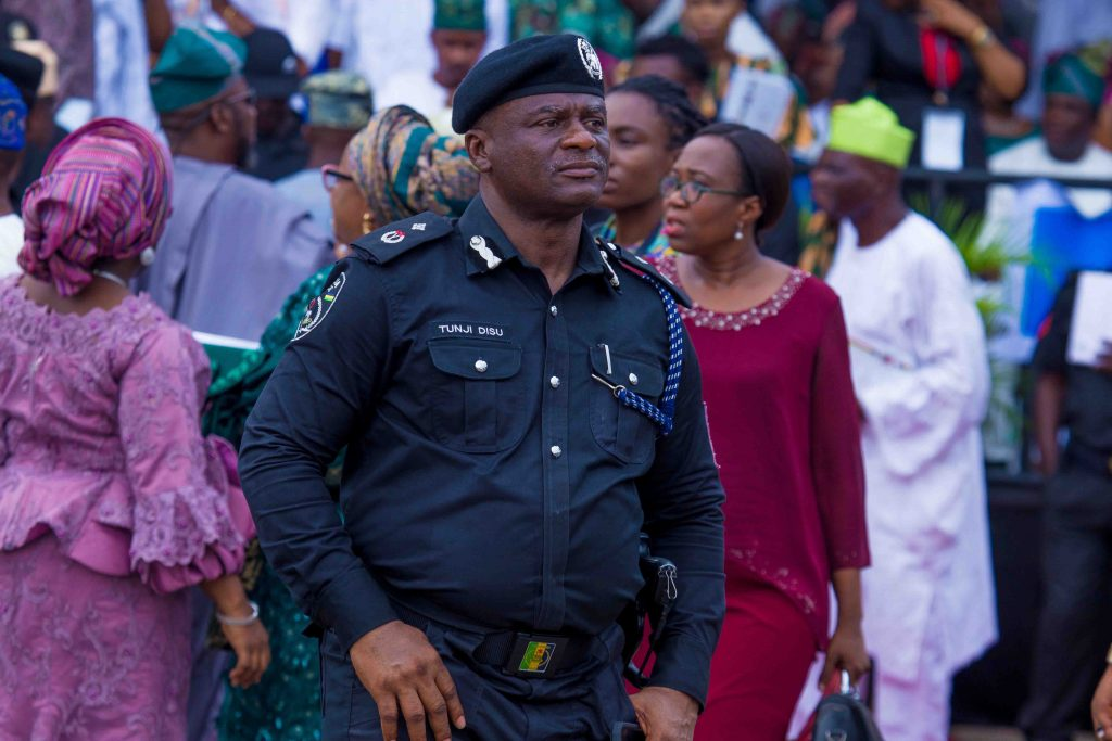Deputy Commissioner of Police, DCP Olatunji Disu appointed to head the IRT