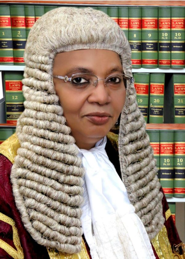 Justice Zainab Bulkachuwa, President of Court of Appeal