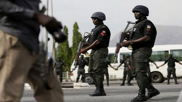 Nigerian Policemen: Police and other security operatives kill 2 gunmen in Imo