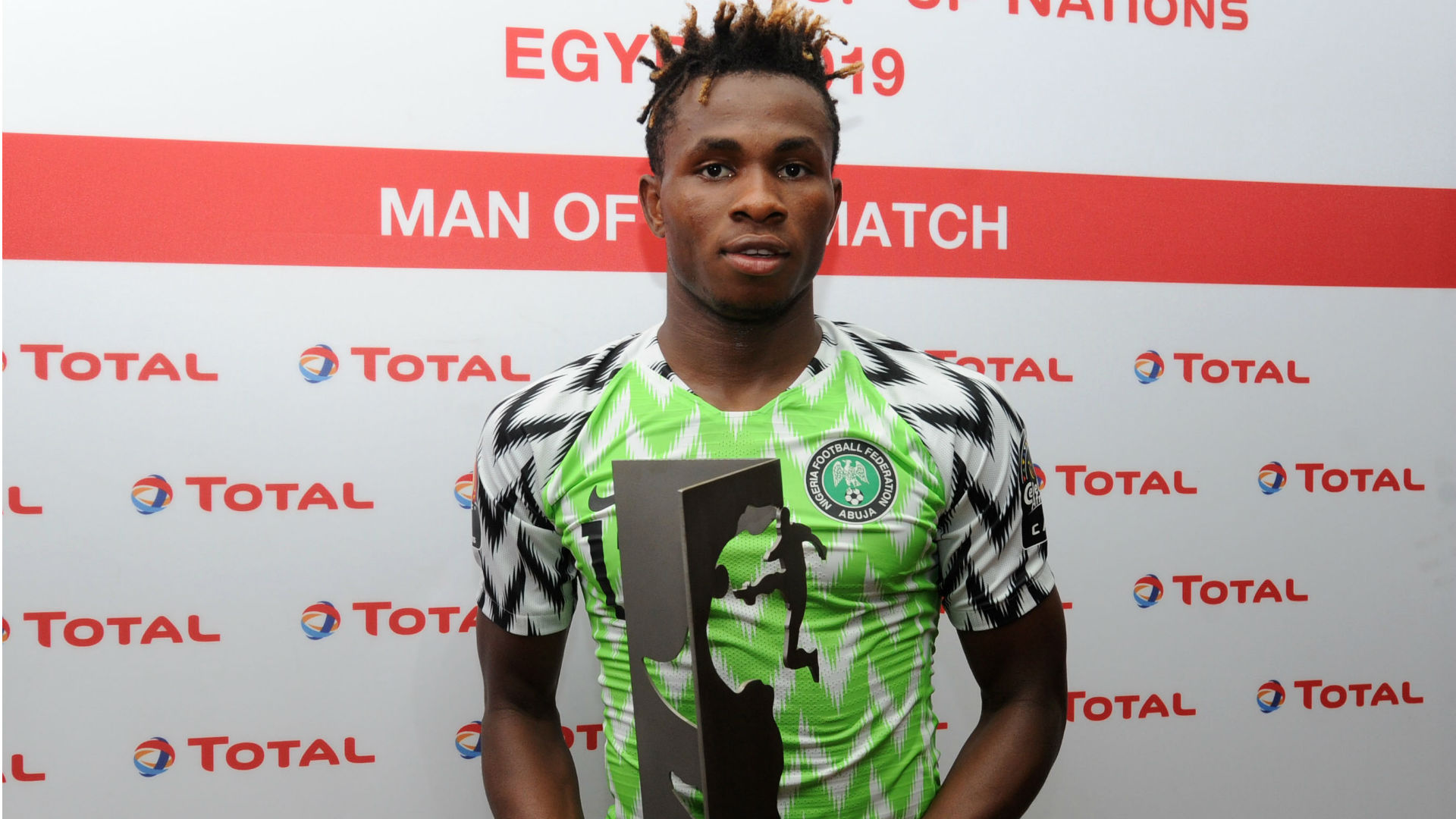 First goal for Nigeria excites Chukwueze
