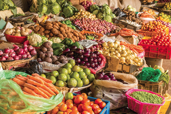 Foodstuffs on display: FAO says an additional 132 million people face food and nutrition insecurity today because of the COVID-19 pandemic, FAO said, ahead of the International Day of Awareness of Food Loss and Waste, on Wednesday, 29 September.