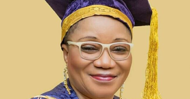 Prof. (Mrs.) Lilian Salami, UNIBEN VC: justifies imposition of fines for late registration by students